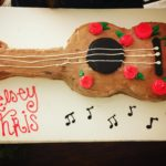 Guitar Engagement Cake
