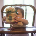 Lainey Grace with her smash cake Photo by Amazin Grace Photography MS