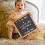 A little cake and a lot of fun, Lainey Grace is turning one!  Photo by Amazin Grace Photography MS