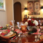 Christmas Dinner Tablescape