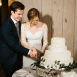 cake cutting - photo by Madi Flourney Photography