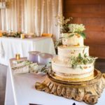Caramel Wedding cake - photo by Gabe Stejskal