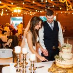 cake cutting details - photo by Gabe Stejskal