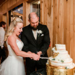 the excitement of cutting the cake - photo by John Meyers Photography