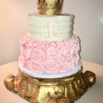 Sweet 16 Princess Cake