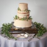 Pumpkin Spice Wedding Cake