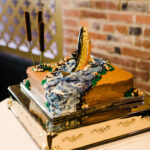 Rainbow Trout Groom's Cake